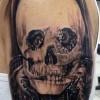 Egy különleges tetoválás, te mit látsz a képen?