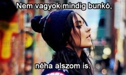 Nem vagyok mindig…