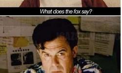 Rájöttem mit mond a róka…