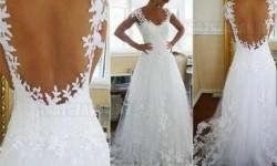 A világ egyik legszebb menyasszonyi ruhája