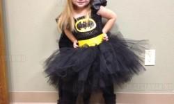 A kislányom azt kérte, hadd lehessen Batman balerina Halloweenkor