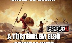 Dávid vs.Góliát
