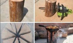 Kempingötlet haladóknak – így rakj tüzet egy hasáb fából