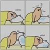 Mikor fáradtan alszol