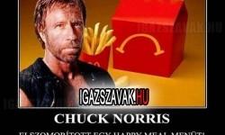 Mit tettél, Chuck?
