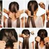 Mutatós frizura lányoknak, lépésről lépésre