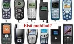 Neked melyik volt az első mobilod?