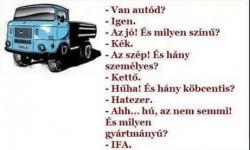 Van autód?