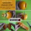 Narancs pucolás, gyorsan, egyszerűen