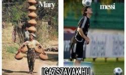 Mary vs. Messi
