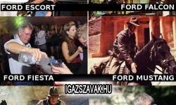 Te melyik Fordot választanád?