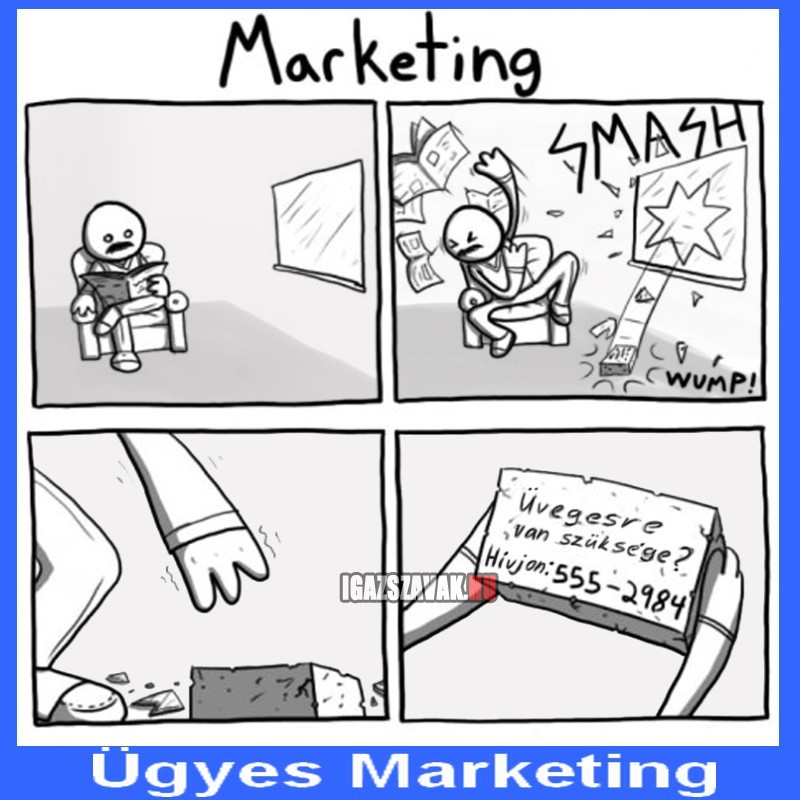 ügyes marketing