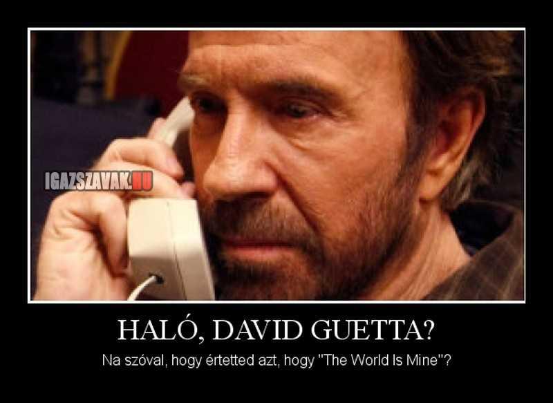 Haló, DAVID GUETTA