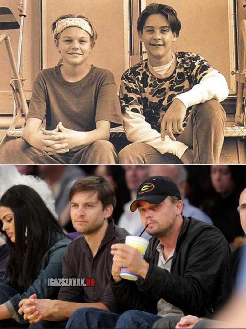 Tesók egy életen át, Leonardo DiCaprio és Tobey Maguire