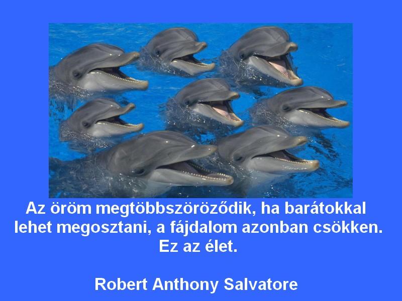 delfines idézetek Akinek van miért élni | Igazszavak