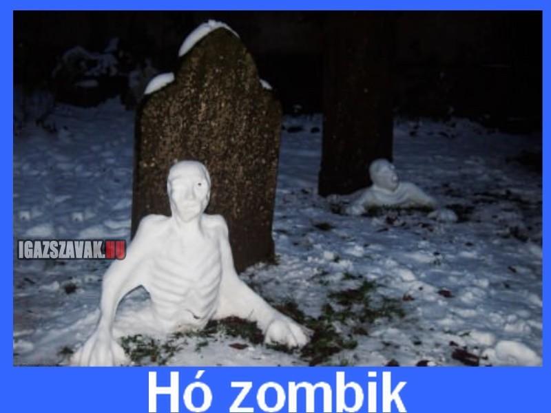 hó zombik