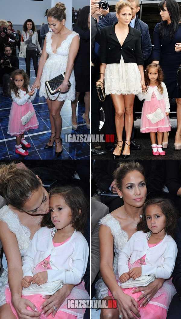 Igazi kis díva lett Jennifer Lopez lánya