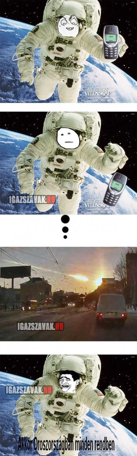 Ne ejtsd el a Nokia telefonodat az űrben, mert ez lesz a  következménye