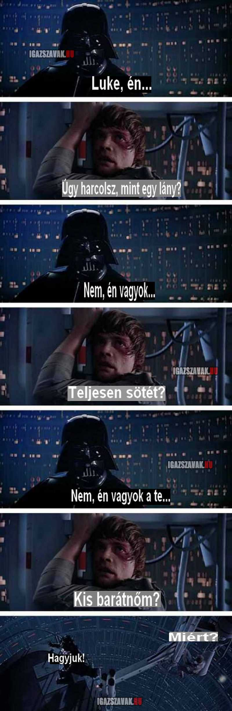 Star Wars, Luke  én...