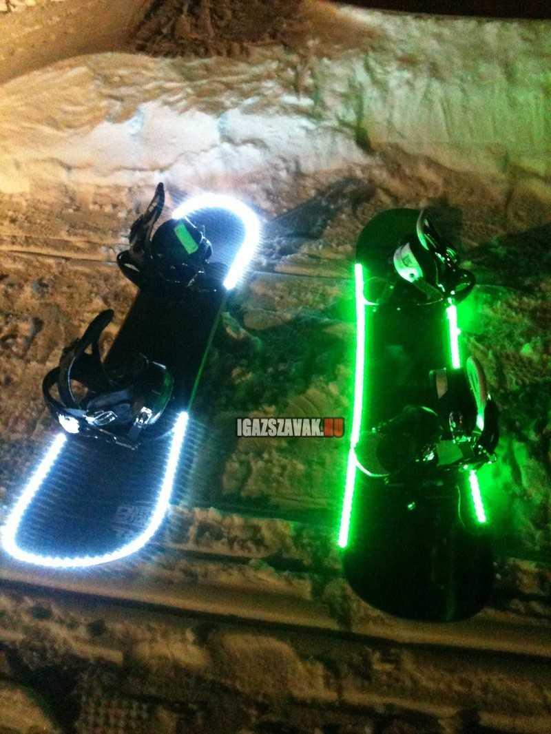 Zseniális  snowboards újjítás