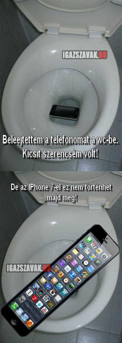 az IPhone 7-el nagyobb biztonságban leszek