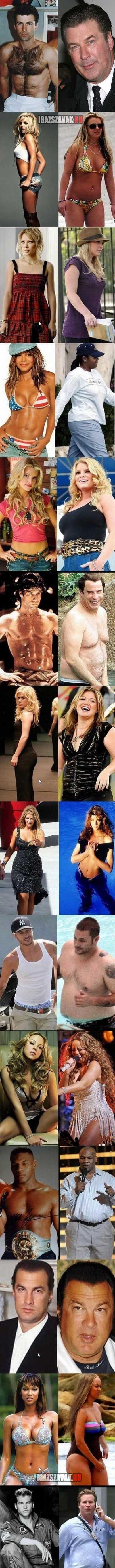 elhízott sztárok
