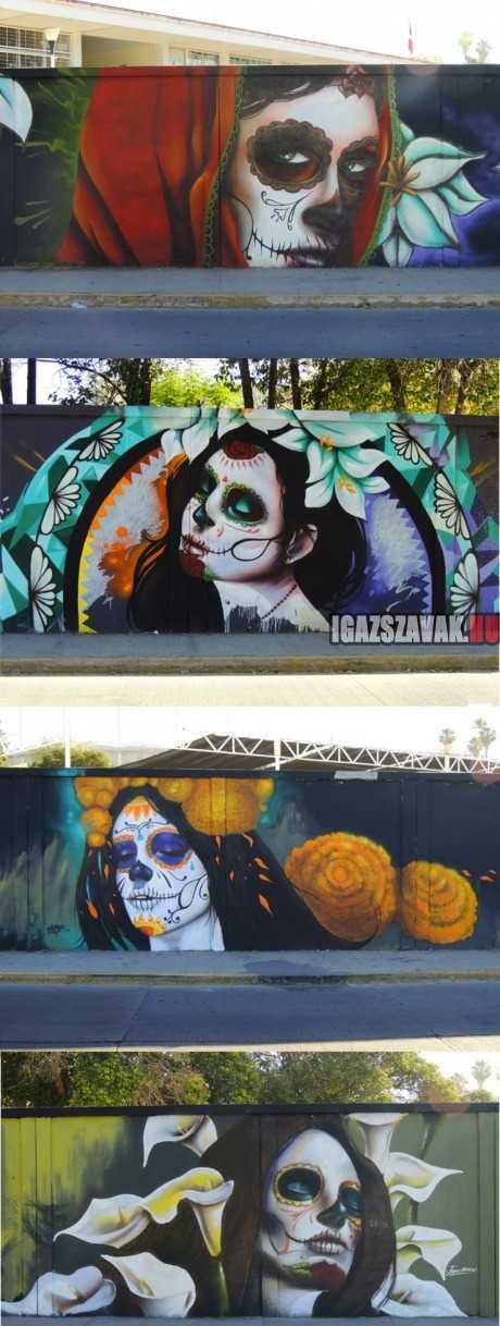 félelmetesen jó mexikói graffiti
