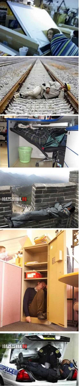 pihenés a munkahelyen