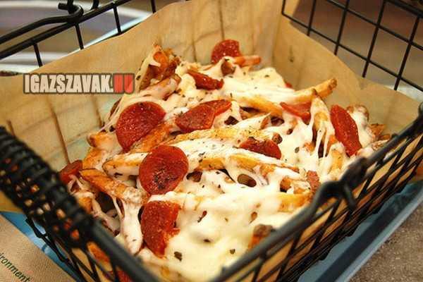 pizzás sültkrumpli, falnád