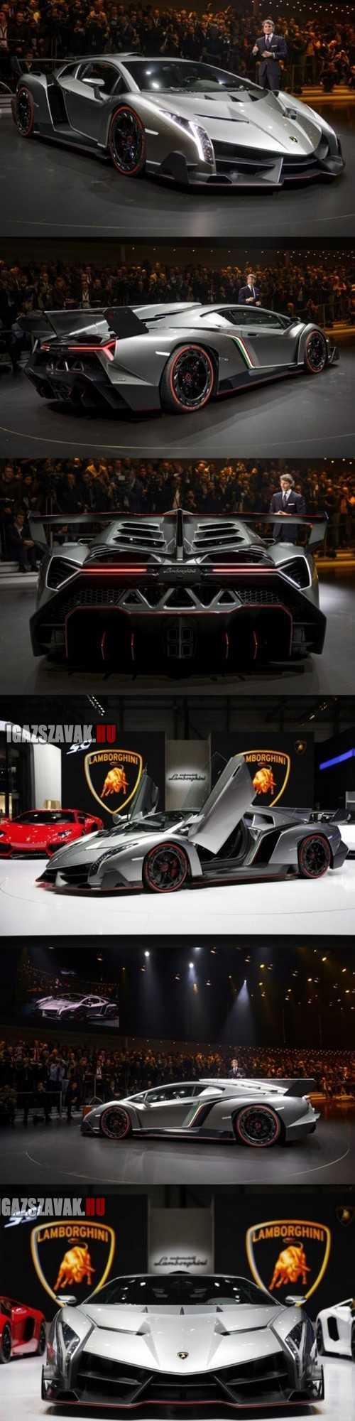 Az új Lamborghini. Sajna 846millió Ft