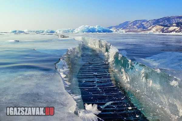 Bajkál-tó Oroszországban