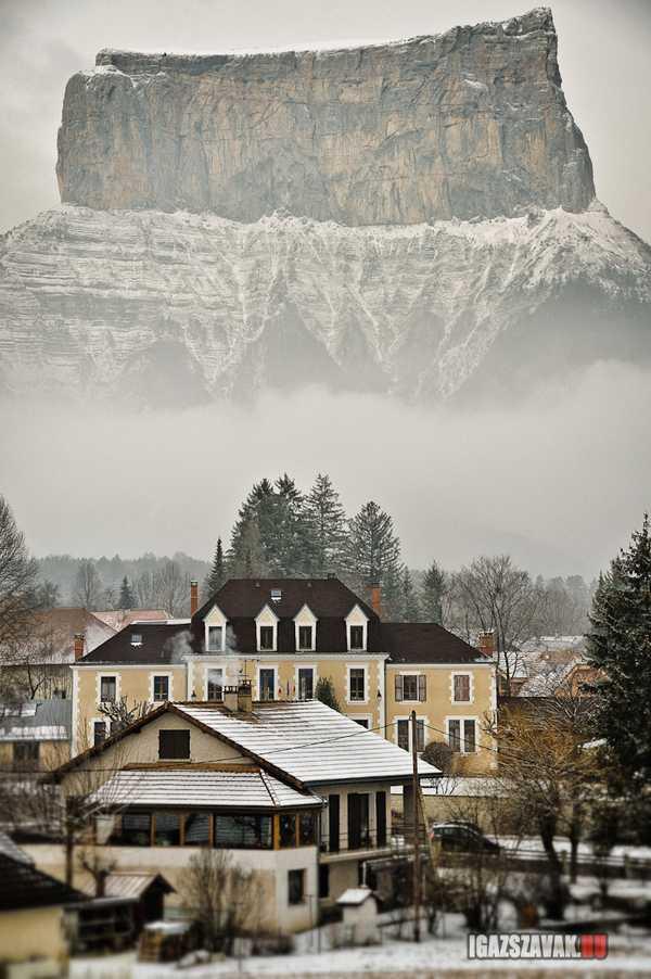 Mont Aiguille, Franciaország