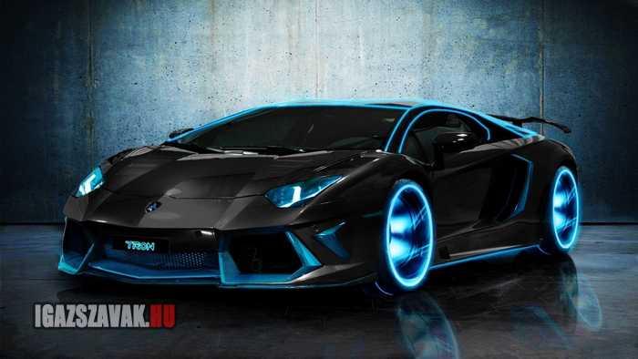 TRON Lamborghini Aventador
