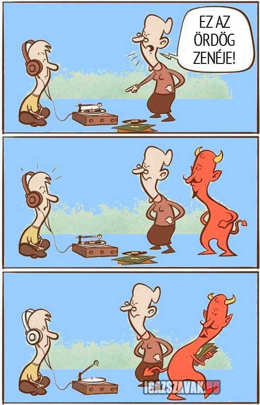 az ördög zenéje