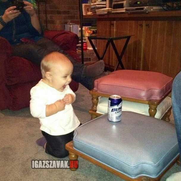 az első söröm