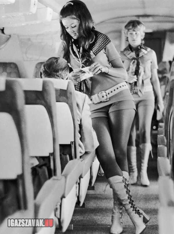 csak egy légiutaskisérő 1968-bol
