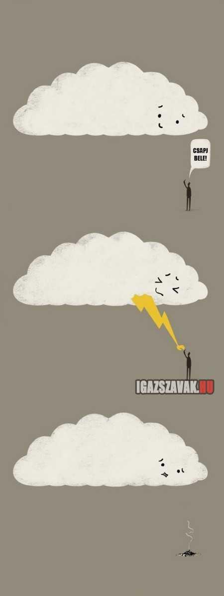 csapj bele felhő