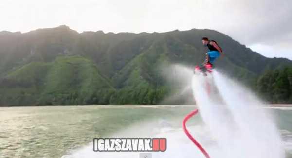 flyboard a Hawaii-ról induló új őrület
