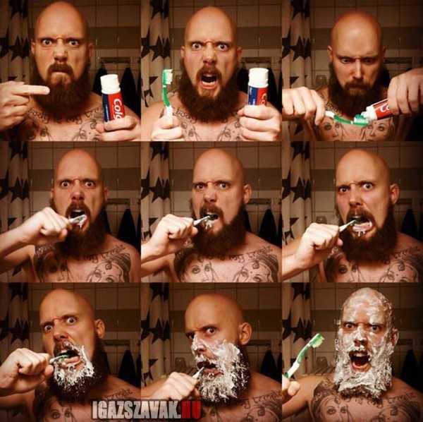 igy mos fogat egy igazi férfi