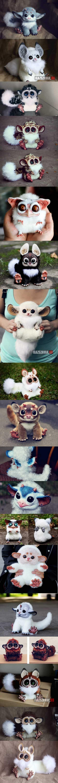 különleges, valósághű fantázia állatfugurák