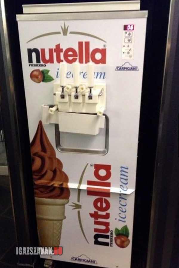 nutella fagyigép