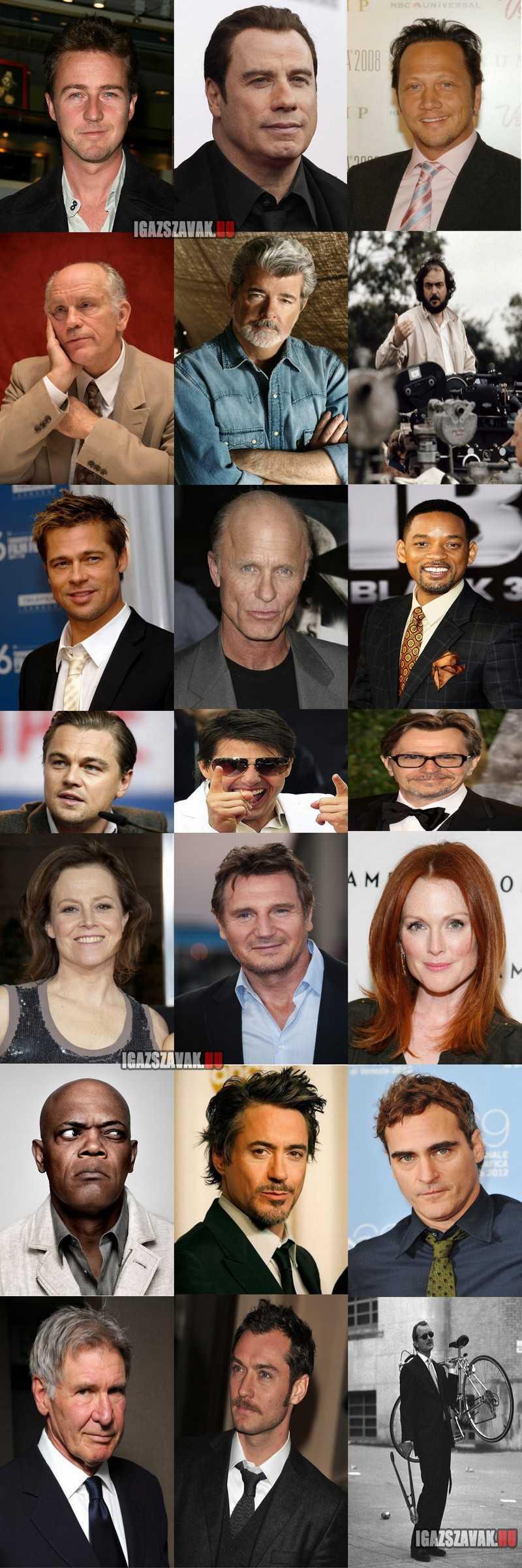 színészek és rendezők akik még soha nem kaptak oscart