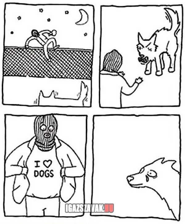 szeretem a  kutyákat