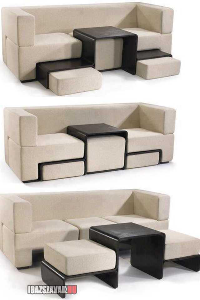 transformer kanapé