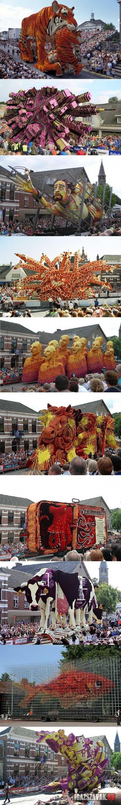 vírágkarneváll hollandiában