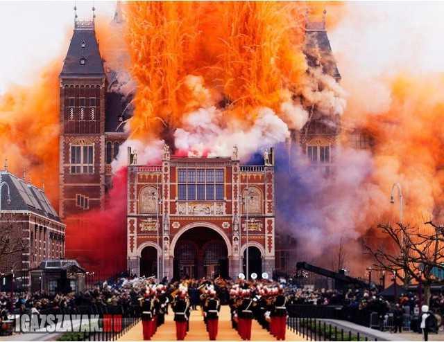 A hollandok aztán tudják, hogyan kell egy múzeumot megnyitni