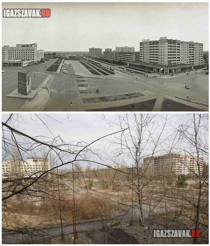 Csernobil 25 éve és most