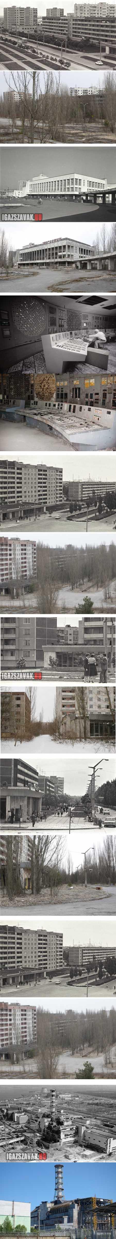 Csernobil 27 éve és most 2