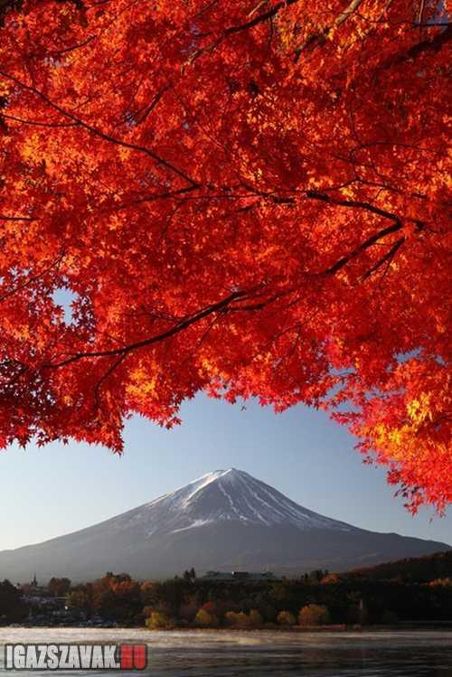 a Fujiyama hegy
