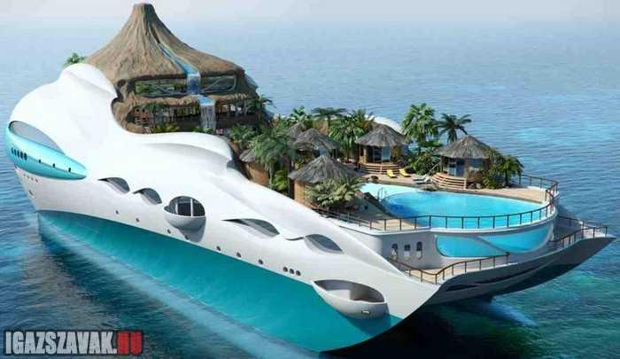 azt hiszem ezen a hajón lehet nyaralni